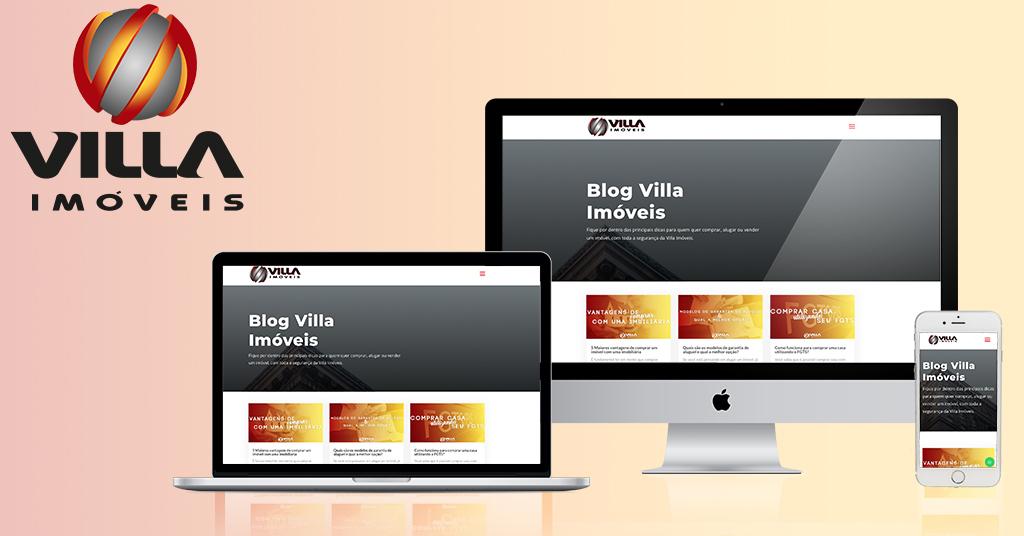 Solomo cria blog para a Imobiliária Villa Imóveis