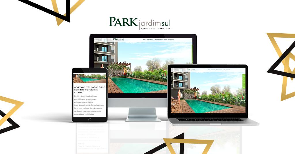 Solomo cria Landing Page para Imobiliário Park Jardim Sul em São Paulo
