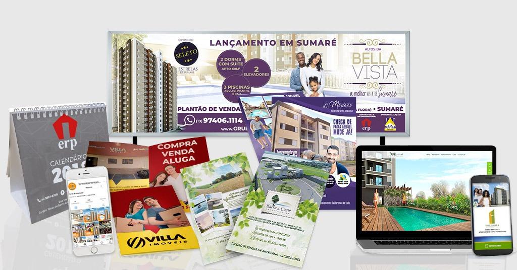 Agência de publicidade e marketing digital para empreendimentos imobiliários