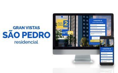 Marketing digital para Empreendimento GranVistas São Pedro