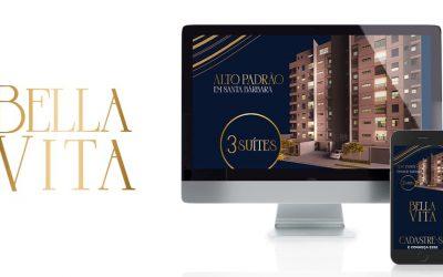 Marketing digital para Empreendimento imobiliário em Santa Bárbara – Edifício Bella Vita