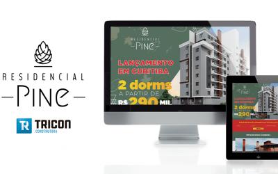 Marketing digital para o empreendimento Residencial Pine em Curitiba