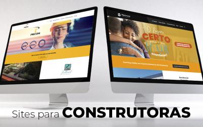 Sites institucionais para Construtoras